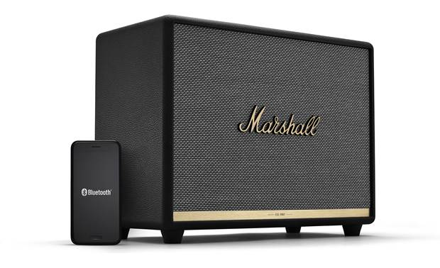 Marshall Woburn II Bluetooth® Black - simple control with Marshall Bluetooth app (smartphone not included)