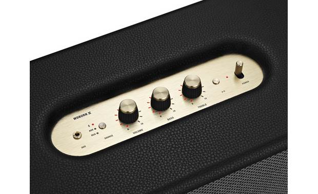 Marshall Woburn II Bluetooth® Black - top-mounted control buttons
