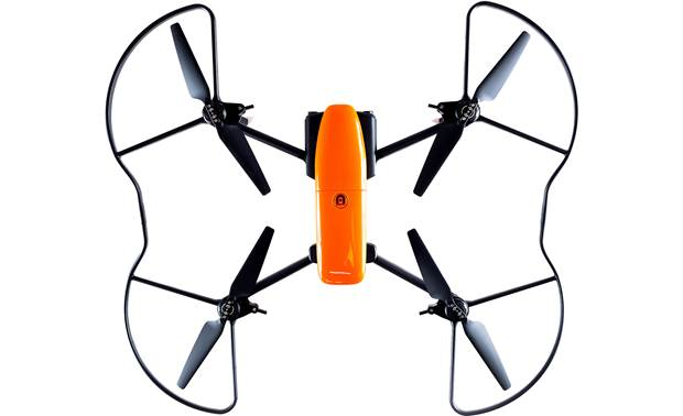 Autel Robotics EVO Propeller Guards Shown installed on EVO drone (not included)