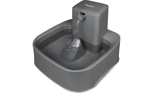 PetSafe Drinkwell® 2 Gallon Pet Fountain Two-step filter system keeps water clean and tasty