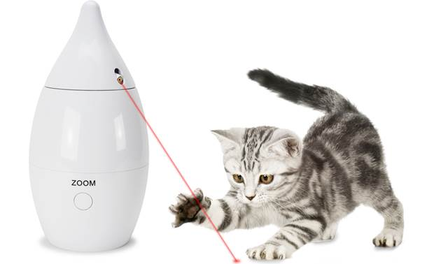 PetSafe Zoom Rotating Laser Cat Toy Front