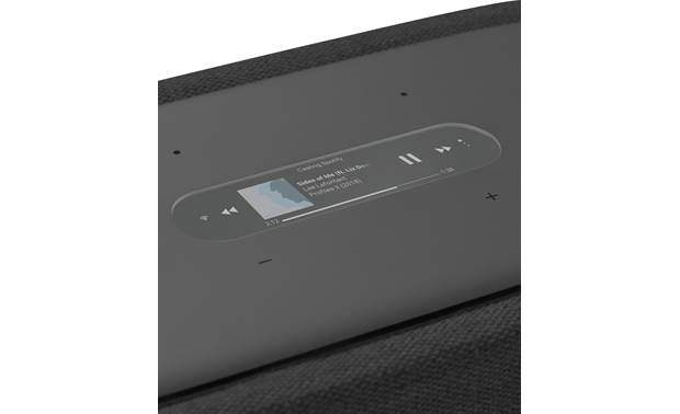 Harman Kardon Citation 300 Full-color LCD touchscreen on the top panel offers playback control