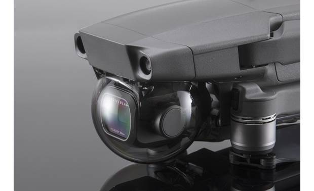 DJI Mavic 2 Pro Gimbal Protector Installed on a DJI Mavic 2 drone