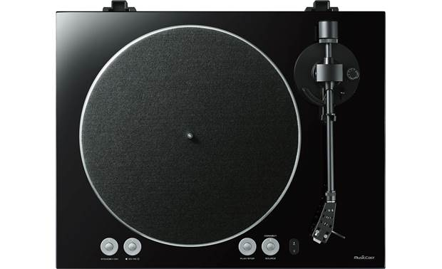 Yamaha TT-N503 MusicCast VINYL 500 Belt-driven die-cast aluminum platter and static balance straight tonearm