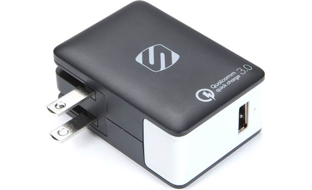 Scosche reVOLT QC Home 18-watts of power to charge up your phone or tablet quickly