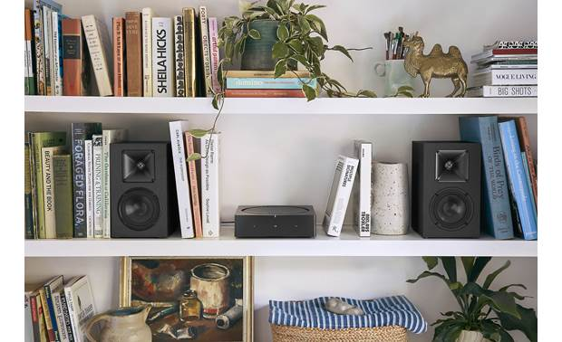 Sonos Amp Easily powers a pair of bookshelf speakers