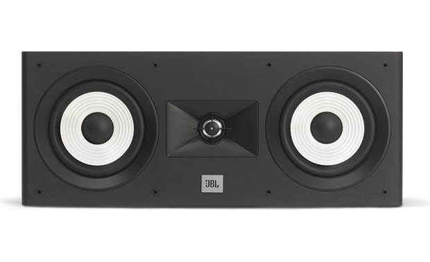 JBL Stage A125C Grille is removable so you can admire thse striking woofers