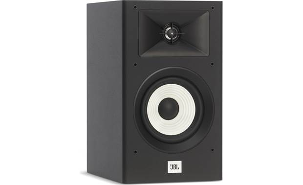 JBL Stage A130 Grilles are removable so you can admire those striking woofers