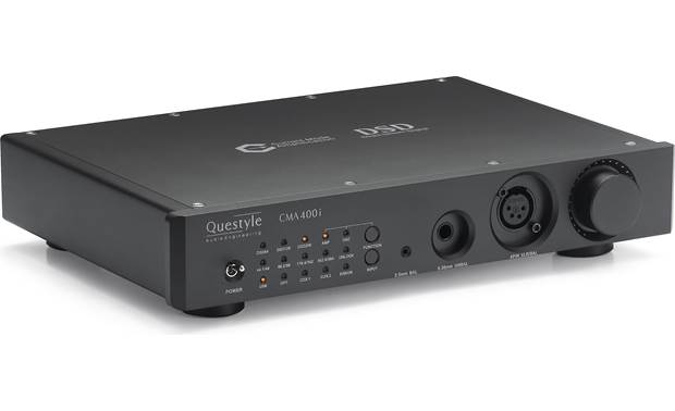 Questyle Audio CMA400i DAC Aircraft-grade aluminum chassis helps minimizes vibration