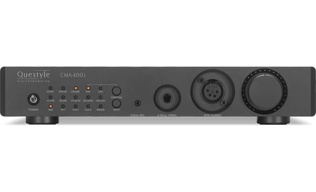 Questyle Audio CMA400i DAC Front-panel LED display indicates the file format currently playing