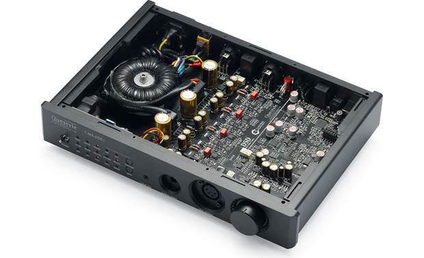 Questyle Audio CMA400i DAC  Toroidal power supply provides clean, robust power to the advanced audio circuitry