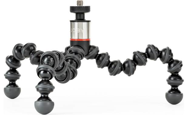 Joby® GorillaPod® 325 Rubber feet provide a stable grip on any surface