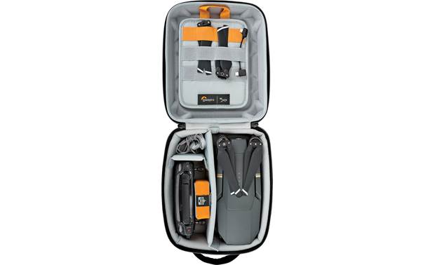 Lowepro DroneGuard CS 150 Removable organization panel and elastic straps to secure fragile parts