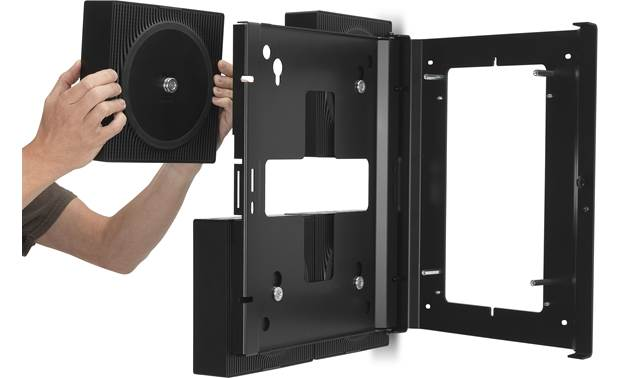 Flexson Wall Mount Hinged design allows easy rear access to all 4 units