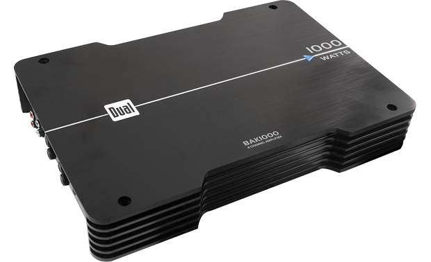 Dual BAK1000 4-channel car amp