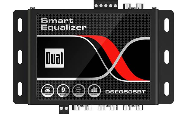 Dual DSEQ505BT Smart Equalizer 7-band EQ and more