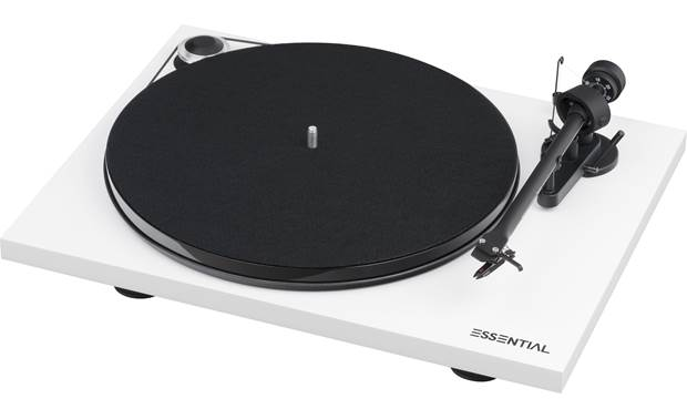 Pro-Ject Essential III RecordMaster Shown without dust cover