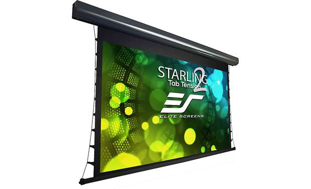 Elite Screens Starling Tab-Tension 2 Angled view