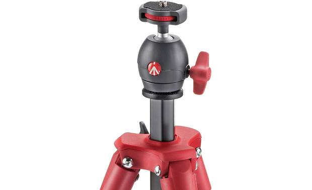 Manfrotto Compact Light Ball head with one knob to lock all adjustments