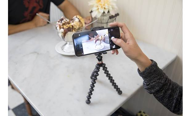Joby® GripTight ONE GorillaPod® Stand Take better photos with your smartphone