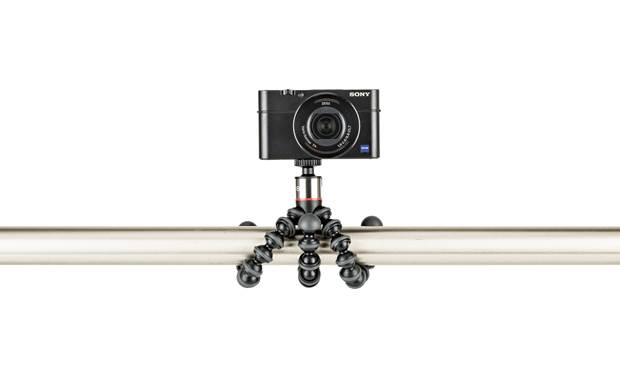 Joby® GorillaPod® 500 Flexible legs wrap around just about anything (camera not included)