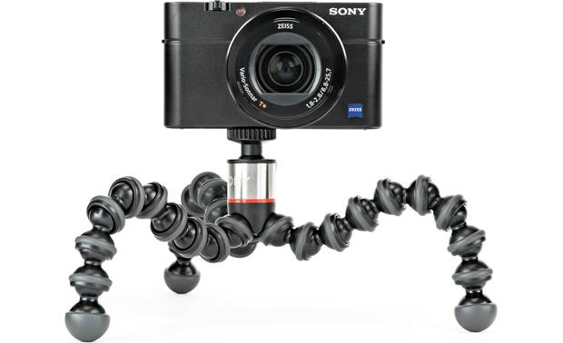 Joby® GorillaPod® 500 Rubber feet provide a stable grip on any surface (camera not included)