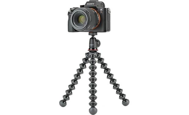 Joby® GorillaPod® 1K Shown with Sony mirrorless camera (not included)