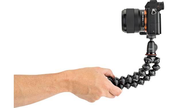 Joby® GorillaPod® 1K Hold legs together for stable handheld shooting (camera not included)