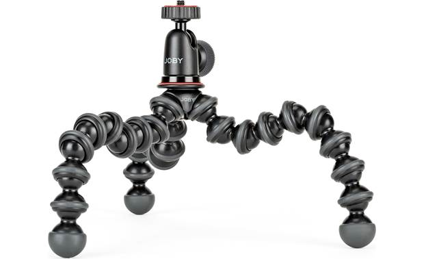Joby® GorillaPod® 1K Rubber feet provide a stable grip on any surface