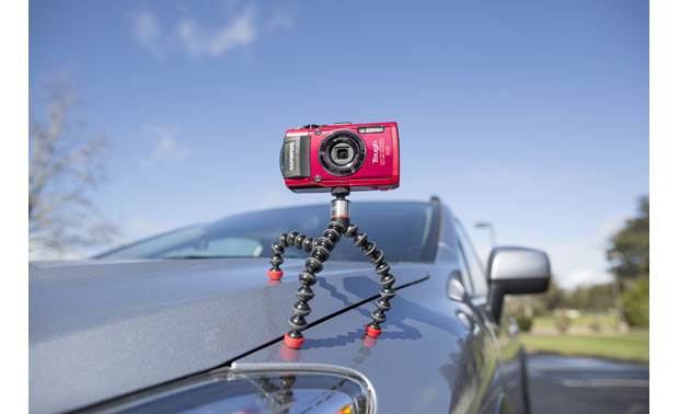 Joby® GorillaPod® Magnetic 325 Lets you take stabilized shots on the side of the road