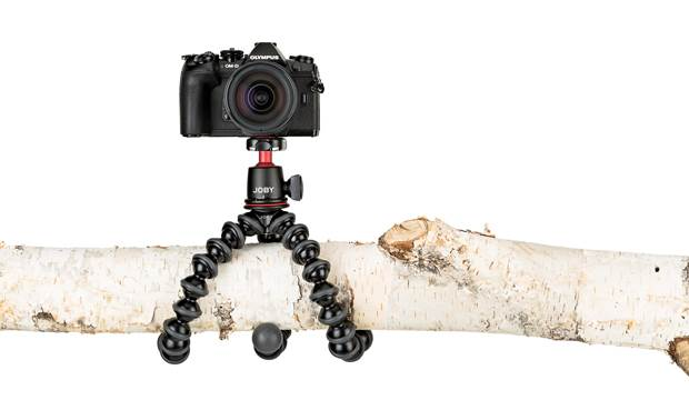 Joby® GorillaPod 3K Flexible legs wrap around just about anything