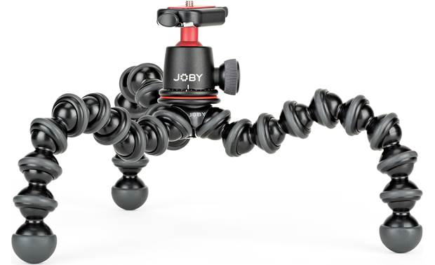 Joby® GorillaPod 3K Rubber feet provide a stable grip on any surface