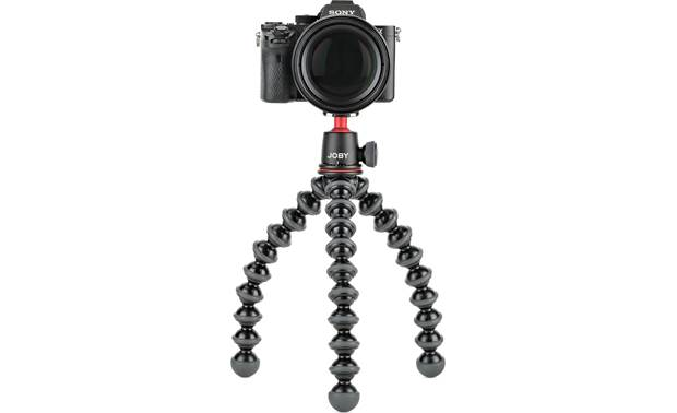 Joby® GorillaPod 3K Shown with legs curved (camera not included)