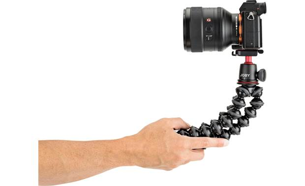 Joby® GorillaPod 3K Hold legs together for stable handheld shooting (camera not included)