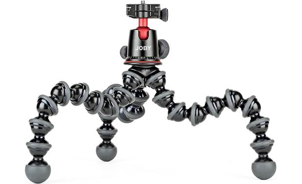 Joby® GorillaPod® 5K Rubber feet provide a stable grip on most surfaces