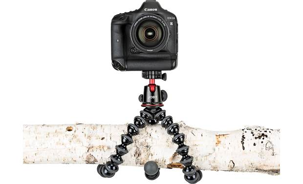 Joby® GorillaPod® 5K Flexible legs wrap around just about anything