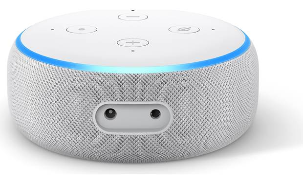 Amazon Echo Dot (3rd Generation) White -back