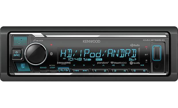 Kenwood KMM-BT525HD Add on a SiriusXM tuner for even more media options