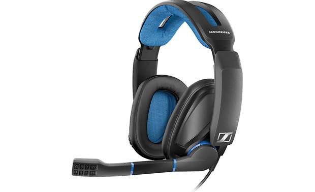 Sennheiser GSP 300 Closed-back gaming headset tuned for clear sound with deep bass