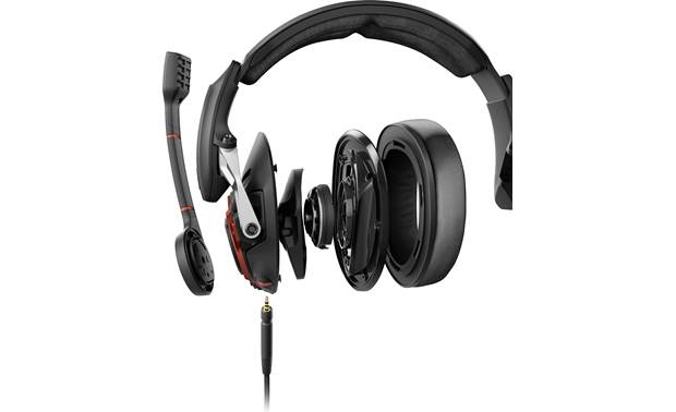 462604fe28b Sennheiser GSP 600 Finely tuned drivers deliver detailed sound so you can  pick up on spatial