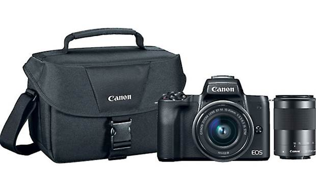 Canon EOS M50 Two Lens Holiday Bundle