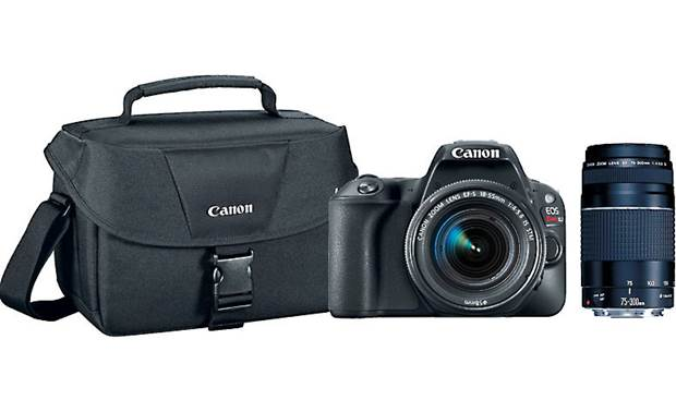 Canon EOS SL2 Two Lens Holiday Bundle Front