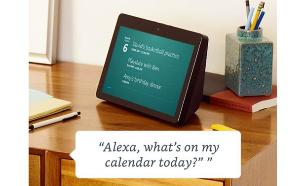 Amazon Echo Show (2nd Generation) Check your calendar