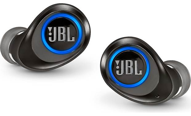 JBL Free X No wire connecting the left and right earbud