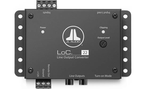 what are line output converters?jl audio loc 22