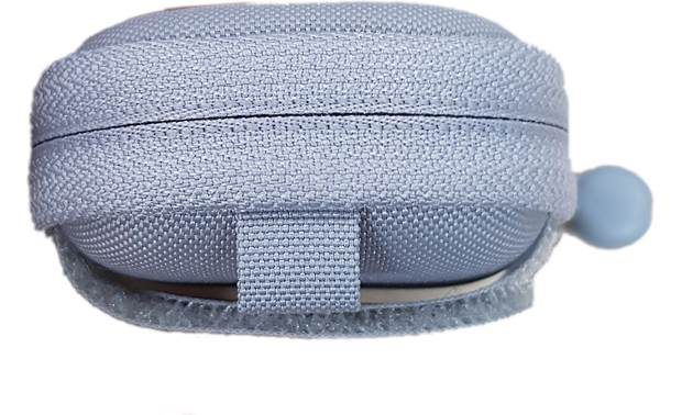 Samsung SmartThings Strap Pouch Woven loop on top lets you clip it to a lanyard or carabiner