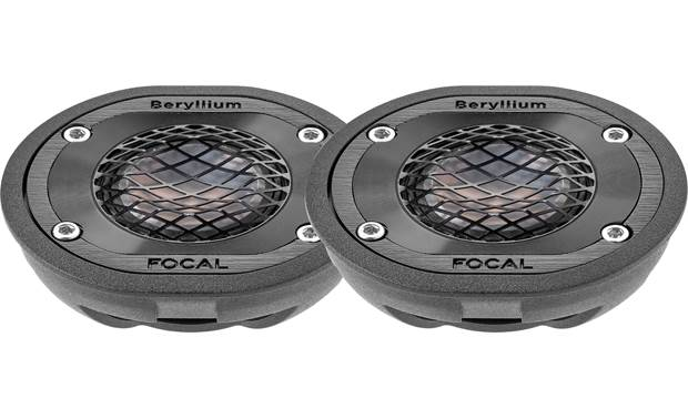 Focal TBM Enjoy the fine detail of your favorite songs with these innovative Beryllium tweeters