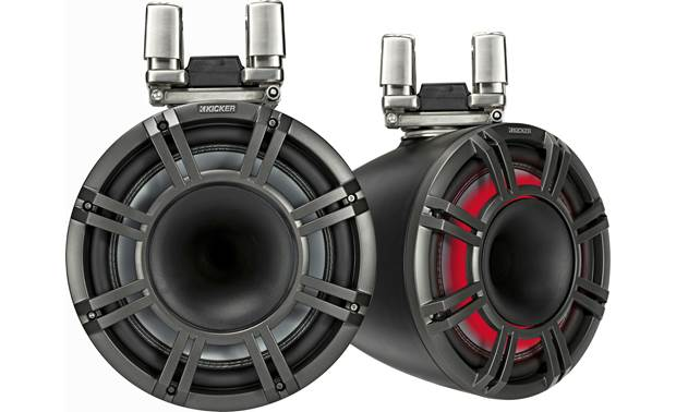 Kicker 44KMTC114 marine wakeboard tower speakers