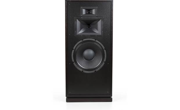 Klipsch Forte III A horn-loaded midrange driver and tweeter combine for terrific sound