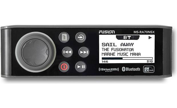 Fusion MS-RA70NSX marine digital media receiver